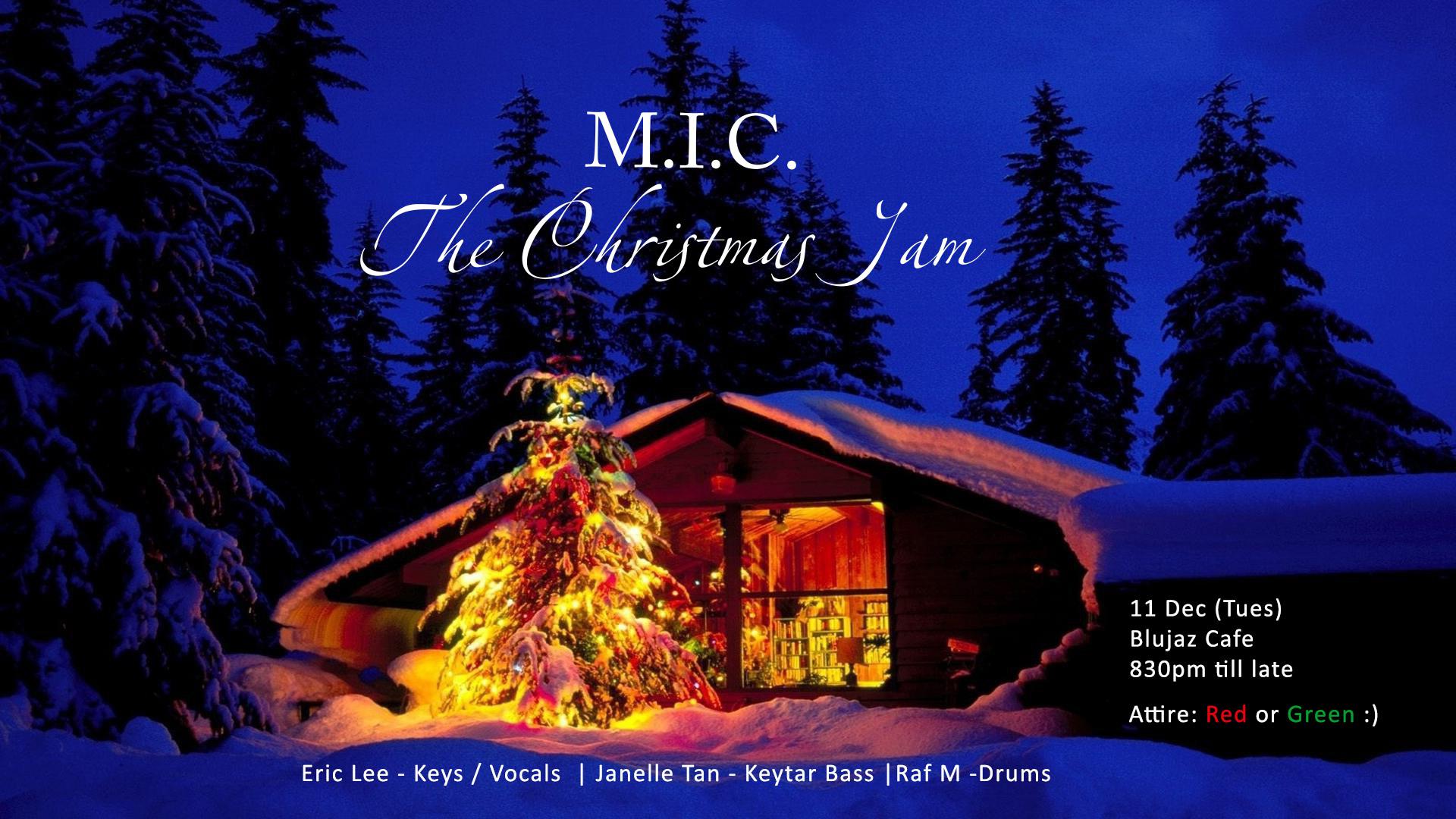 11 Dec 2018 – The Christmas Jam